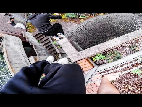 PARKOUR vs. SECURITY Real Chase Situation GoPro HERO3
