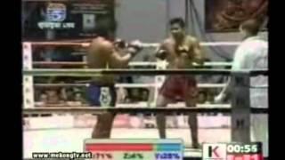 Khmer boxing, Lao Sinath Vs. Touch Reachisey - Kun Khmer 2011