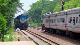 Silk City (সিল্ক সিটি) Express Train of Bangladesh.