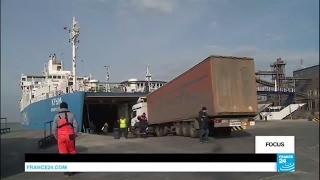 Crimea: Russia building bridge to reach peninsula by road