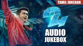 24 Movie Tamil Full Songs | Audio Jukebox | Suriya, Samantha | A.R. Rahman