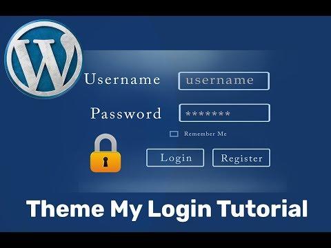 Xxx Mp4 Theme My Login WordPress Plugin Tutorial To Create Custom Login And Registration Form❤️ 3gp Sex
