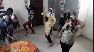 Girls hostel's secret dance