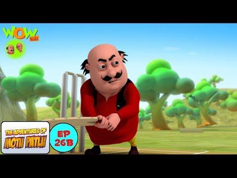 Cricket League - Motu Patlu in Hindi WITH ENGLISH, SPANISH & FRENCH SUBTITLES
