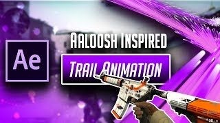 Advanced AE Tutorial Trail Animation {Aaloosh Inspired} (DO NOT MISS THIS!)