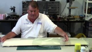 Sheeting a Quickie Wing - Part 4 - Taking it out of the shucks
