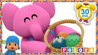 Pocoyo Easter Egg Hunt Patrol | NEW EASTER EPISODE HD