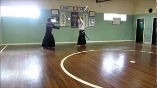 Toyama- & Nakamura Ryu Battodo #21: So-jutsu (Yari v Katana) kata 1-6