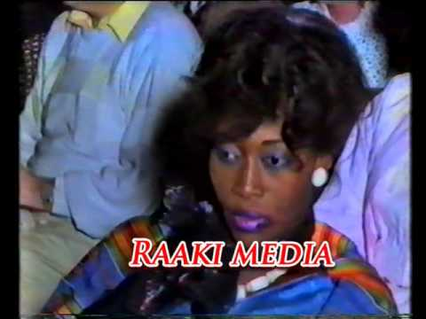 Miss Gambia 1986 Organised by Saffie Saho