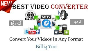 [Hindi] How To change a video format using Xilisoft Video Converter,