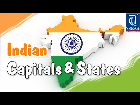 Capital and States in India |