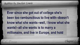 Babbitt by Sinclair Lewis - Chapter 01