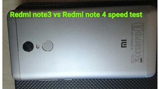 Redmi note 3 gold colour vs Redmi note 4 grey colour speed Test