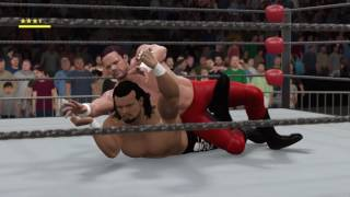 WCW2K17 June Week 1 WCW Nitro Match 4 Chris Benoit vs Meng