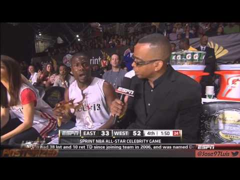 HD Kevin Hart NBA Celebrity all star weekend Houston 2013 Back2Back MVP Hilarious LOL