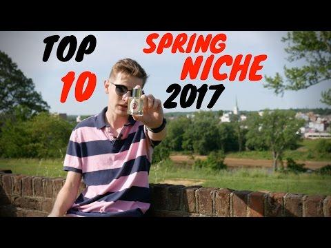TOP 10 SPRING NICHE FRAGRANCES  2017  |  Tripleinc.