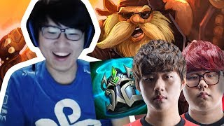 RUSH PLAYS WITH SK TELECOM IN KR RANKED! CLIMBING BACK TO CHALLENGER!