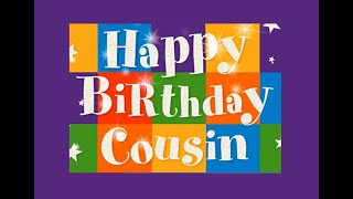 🎉🚙 HAPPY BIRTHDAY COUSIN! 🚕🎉(E-Card Category: Birthday for *Male Cousin)