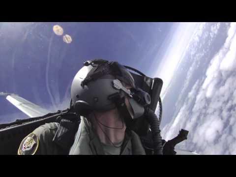 RAAF F/A-18 Hornet training