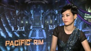 Rinko Kikuchi's Official 'Pacific Rim' Interview - Celebs.com