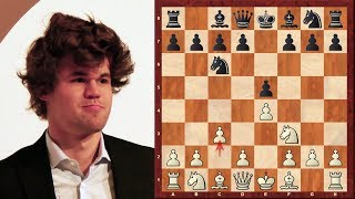 Amazing Game : Magnus Carlsen vs Pentala Harikrishna - Tata Steel (2013) - Ponziani Opening