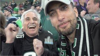 Surprising My Dad Super Bowl Tickets!!!