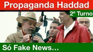 Haddad ataca Bolsonaro com MENTIRAS na 1ª Propaganda do 2º Turno! Análise.