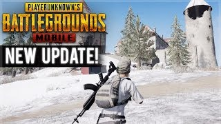 [ENG] PUBG MOBILE | NEW SNOW MAP UPDATE VIKENDI | SQUAD CHICKEN DINNERS!