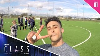 Fady's first day - Class: Behind the scenes - BBC Three