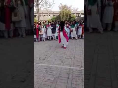 Pakistan's College Girls Celebration with a Dance