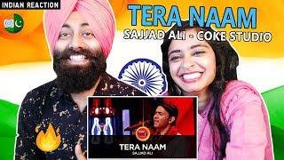 Indian Reaction on Tera Naam, Sajjad Ali | Coke Studio Season 10