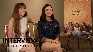 THE DIARY OF A TEENAGE GIRL Interview - Bel Powley & Marielle Heller