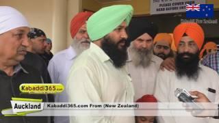 New Zealand Kabaddi 2017 (Auckland) Supreme Sikh Society NZ Interview