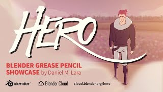 HERO – Blender Grease Pencil Showcase