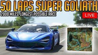 Forza Horizon 4: 50 Laps of the Super Goliath - 2000 Miles, 12+ Hours