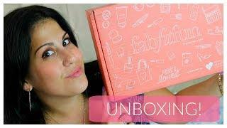 FABFITFUN UNBOXING || EDITORS BOX