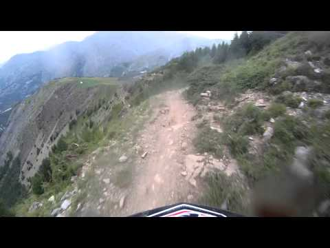 Mountain of Hell - Chris Keeble-Smith - Les Deux Alpes 2014 marin bikes