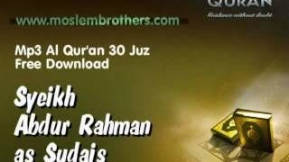 Mp3 Quran 30 juz  Syeikh Abdur-Rahman as-Sudais