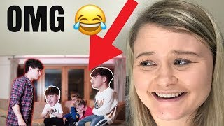 """ROADTRIPTV """"TRYING TO MAKE EACH OTHER LAUGH CHALLENGE"""" **REACTION** (HILARIOUS)"""