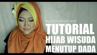 Tutorial Hijab Wisuda Menutup Dada #6 | Gurit Mustika
