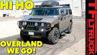 Overland Prepping The World's Most Hated Truck with a Hummer H2 Hammock!
