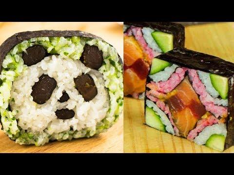 7 Amazing Sushi Creations (Compilation)