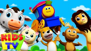 Bob The Train | If You Are Happy And You Know | It Popular Nursery Rhymes Bob Cartoons