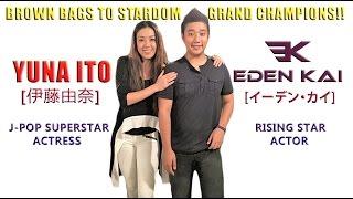 YUNA ITO [伊藤由奈] meets EDEN KAI [イーデン・カイ] (鮎澤悠介) J-Pop Superstar & Rising Star