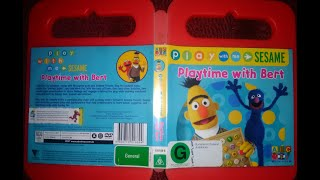 Play With Me Sesame Playtime With Bert DVD Australian