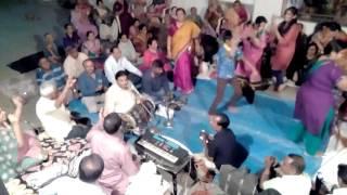 Dakor 2016 Dhaja poojan and bhajan at home