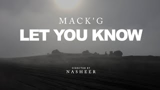 MASGIB - LET YOU KNOW (Official Music Video)