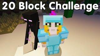 Minecraft PS4 - 20 Block Challenge - Lucky Train (35)