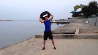 Functional training - Car Tire Training