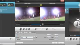شرح رفع دقة الالوان والاضائة واضافة لوجو ببرنامج Aiseesoft HD Video Converter